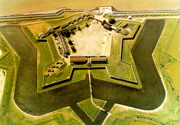 Tilbury Fort - in Chadwell and West Tilbury