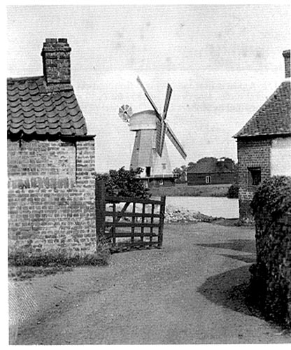 The windmill at South Ockendon